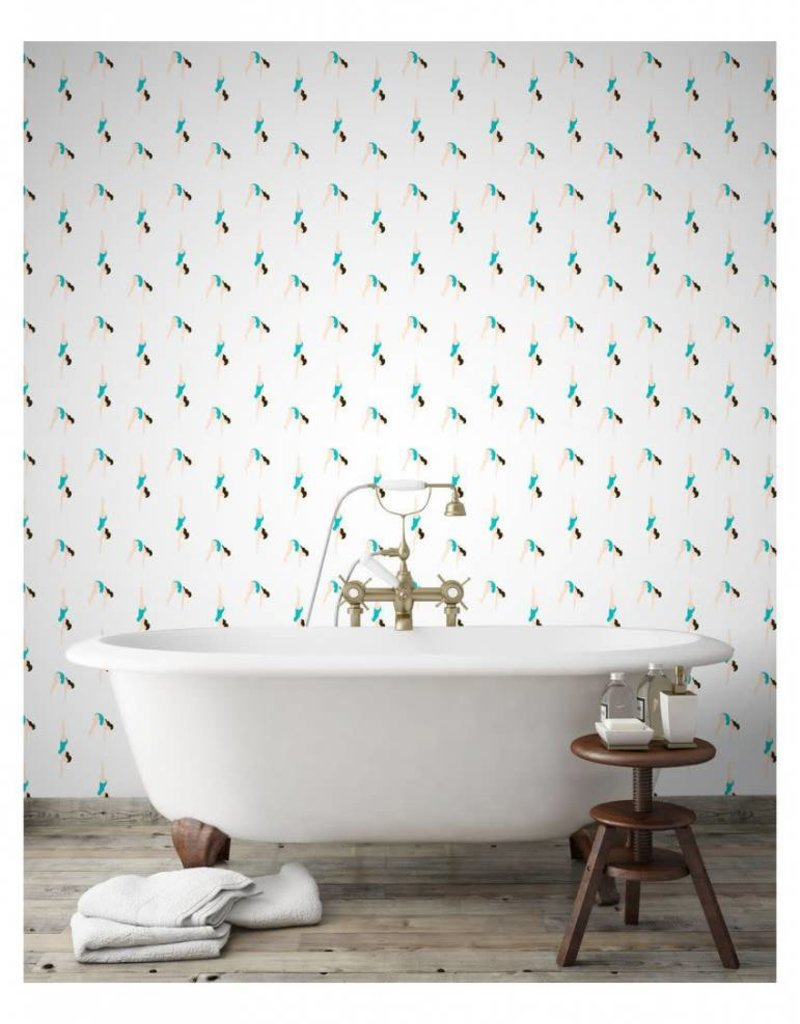 PaperMint Papermint Wallpaper Le Plongeon