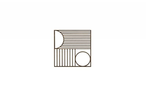 Ferm Living Outline Trivet Square