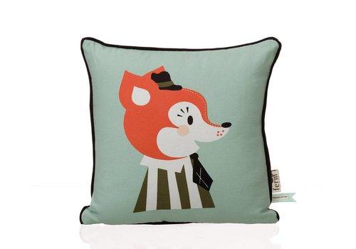 Ferm Living Mr Frank Fox Kids Pillow