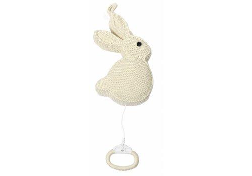Anne Claire Petit Rabbit Music Box