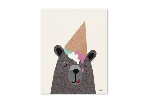 Michelle Carlslund I Heart Ice Cream 30 X 40 CM