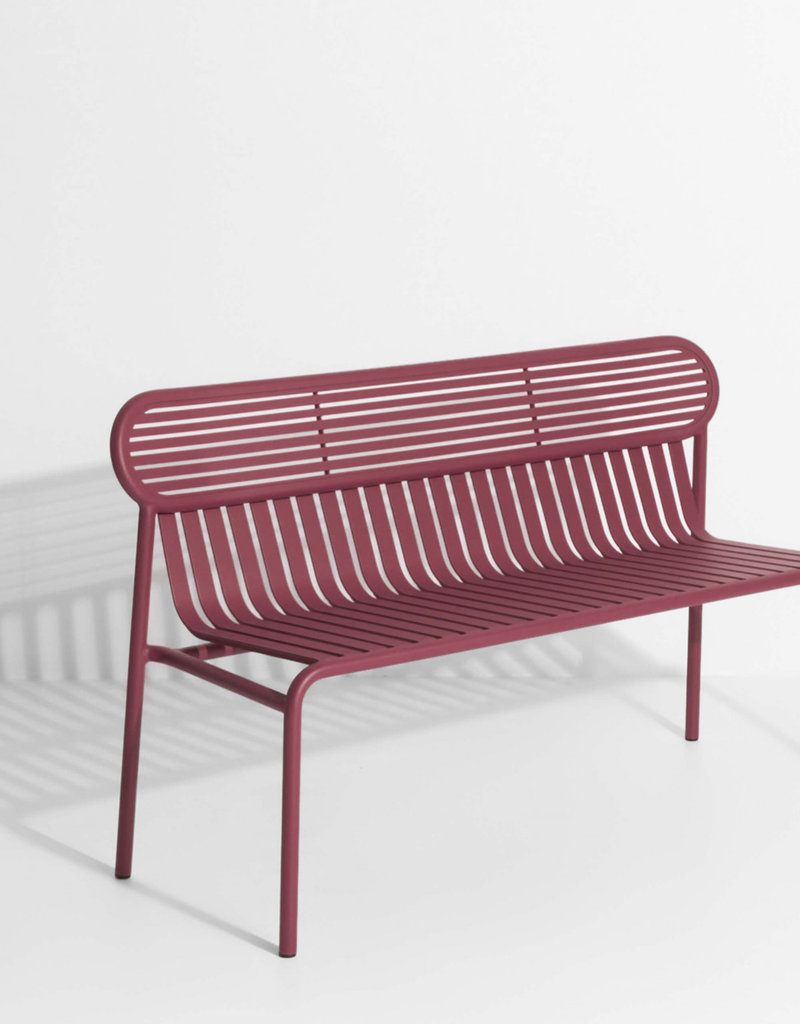 Petite Friture Petite Friture Weekend Bench (with back)