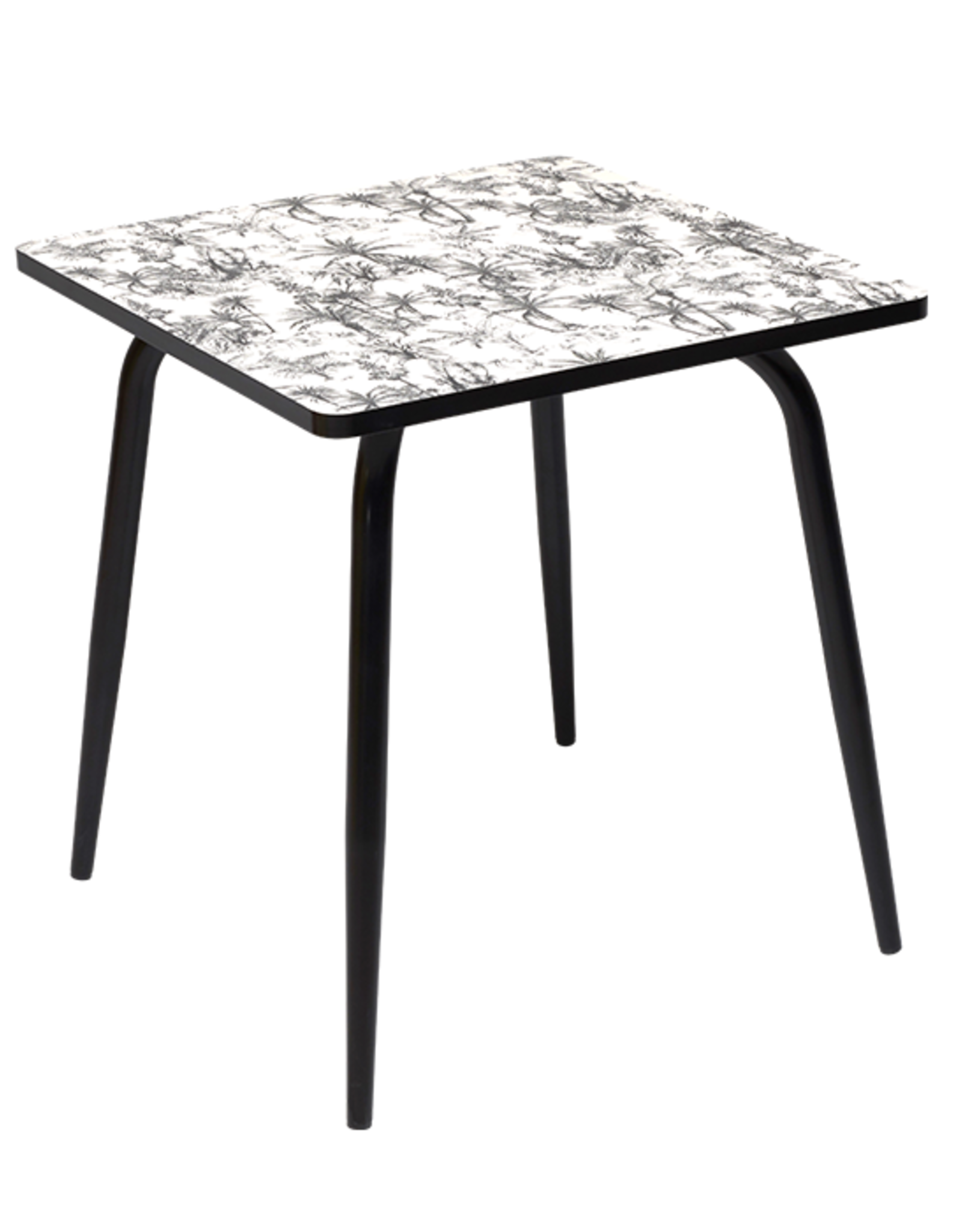 les Gambettes Les Gambettes Vera Square Table Printed