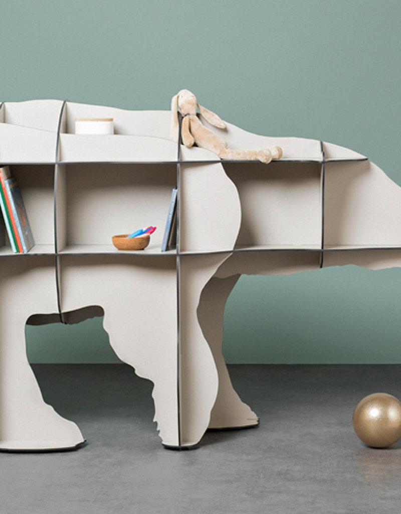 Ibride Ibride Small Bookshelf Junior White