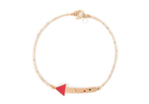 Alphabeta Polock Geometric Bracelet