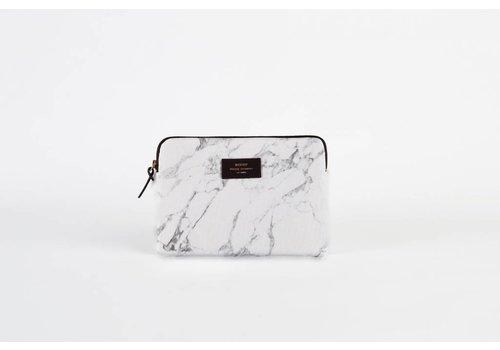 Woouf White Marble Ipad Case