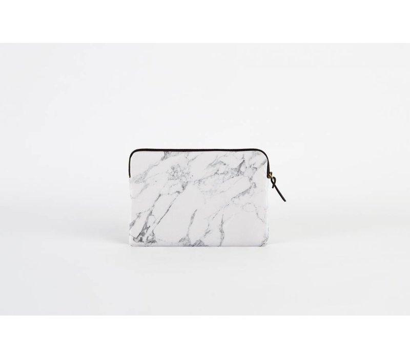 White Marble Ipad Case
