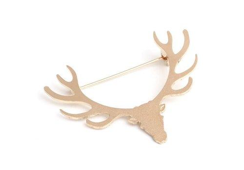 Linapoum LinaPoum Brooch Deer