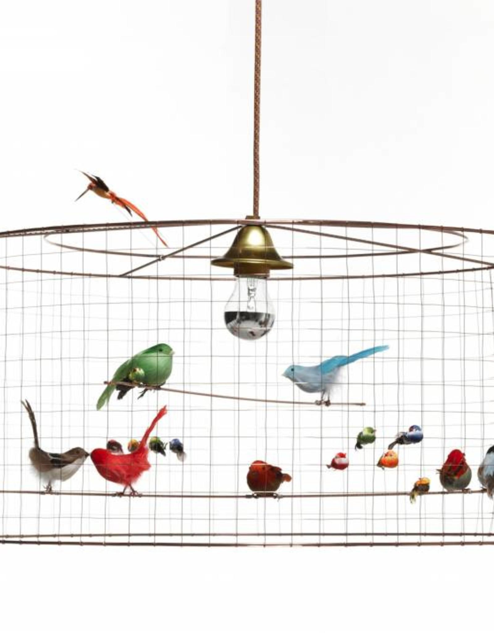 Voliere Birdcage Pendant Lamp Hoem