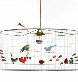 Mathieu Challieres Birdcage Pendant Light