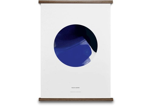 Paper Collective Blue Moon Print