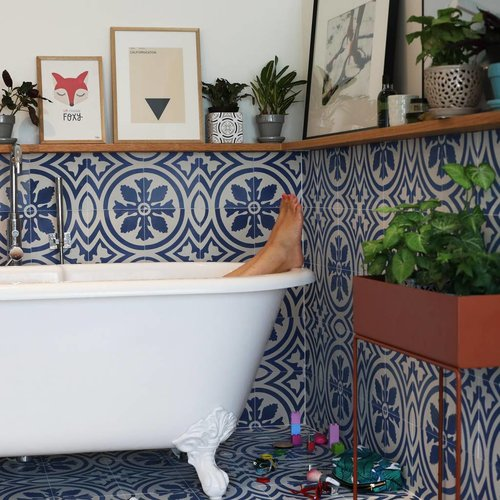 Treat your bathroom as a living space… your kids already do so!