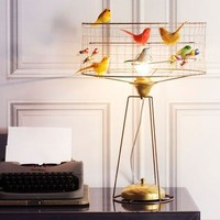 Table Birdcage Lamp
