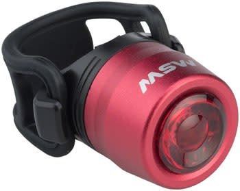 MSW 10-18 MSW TLT-015 Cricket USB Taillight Red