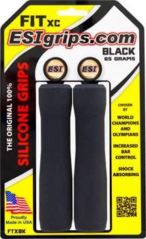ESI 10-18 ESI FIT XC Grips: Black