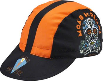 World Jerseys 10-18 World Jerseys Moab Especial Cycling Cap: Black/Orange