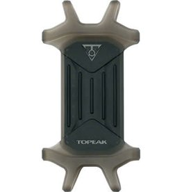 "Topeak 1-19 Topeak Omni RideCase DX for 4.5"" to 5.5"" phones with stem cap and bar mount, Black"