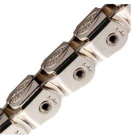 "KMC 1-19 KMC KK710NP Kool Knight Half-Link Chain: 1/8"" 112 Links Silver"
