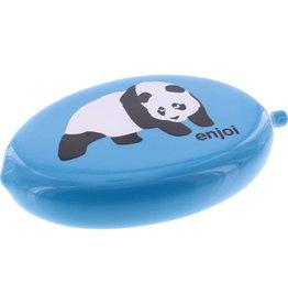 Enjoi panda coin pouch blue