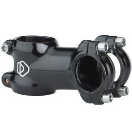 "Dimension 3-17 DMN 25.4 60mm 83/97d Black 1-1/8"" Threadless Stem"