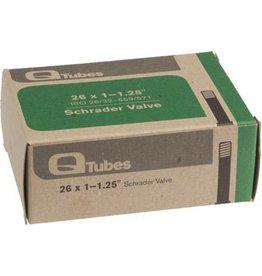 """Q-Tubes 3-17 Q-Tubes 26"""" x 1-1.25"""" Schrader Valve Tube 102g"""