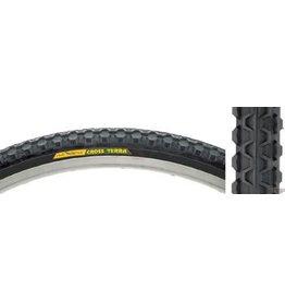 Club Roost 5-17 Club Roost Cross Terra Tire: 700C x 35mm Steel Bead Black