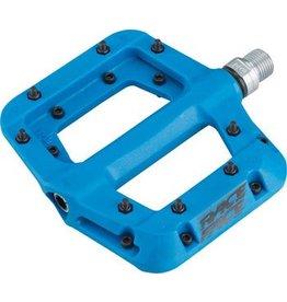 """RaceFace 1-19  Race Face Chester Composite Platform Pedal: 9/16"""" Blue"""