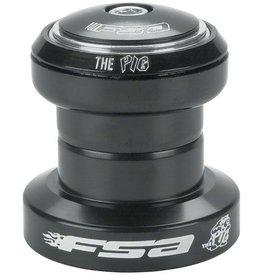 """FSA (Full Speed Ahead) FSA """"The Pig"""" 1-1/8"""" Threadless Headset, Black"""