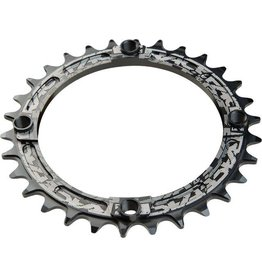 RaceFace Race Face Narrow-Wide Single Ring 30t x 104 Black