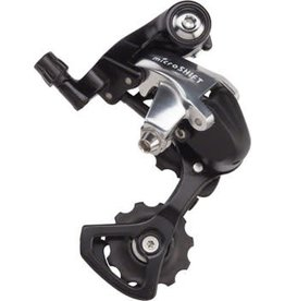 Microshift 1-18 MicroShift R9 Short Cage 9 speed Rear Derailleur -Shimano 9-Speed