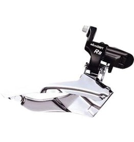 Microshift 6-18 microSHIFT Road R8 Triple 7/8-Speed  Front Derailleur, 31.8/34.9mm, Shimano Compatible