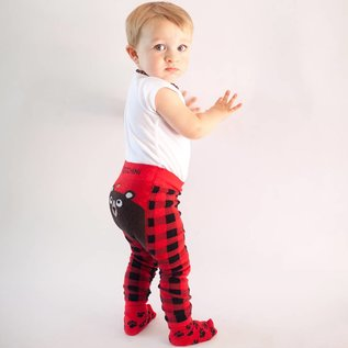 Zoocchini Legging & Sock Set Bosley the Bear