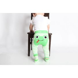 Zoocchini Legging & Sock Set Flippy the Frog