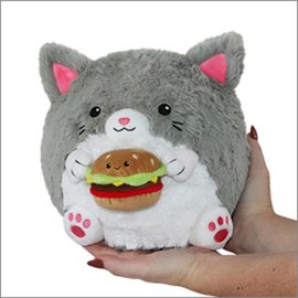 Squishables Mini Squishable Kitty with a Burger