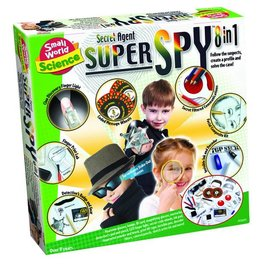 Small World Toys Secret Agent Super Spy 8-in-1