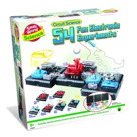 Small World Toys 54 Fun Electronic Experiments