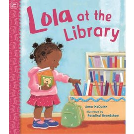 PenguinRandomHouse Lola at the Library