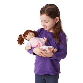 Melissa & Doug Mine to Love - Brianna 12'' Baby Doll