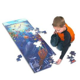 Melissa & Doug Under the Sea Floor Puzzle - 100 Pieces