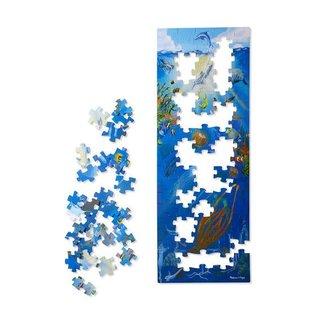Melissa & Doug Under the Sea Floor Puzzle - 100 Pieces