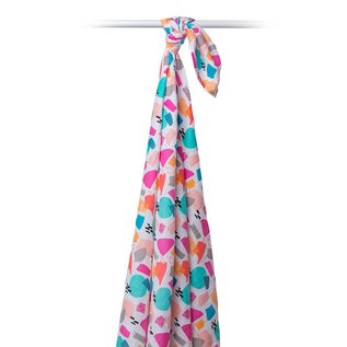 Lulujo Lulujo Designer Muslin Swaddling Blanket