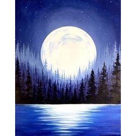 Drink, Paint, Create Moon Jan 19