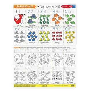 Melissa & Doug Learning Mats