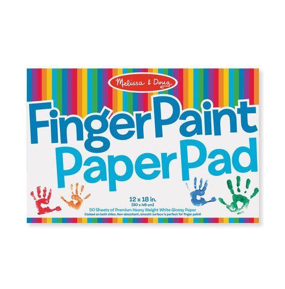 finger paint paper pad enchantedforest
