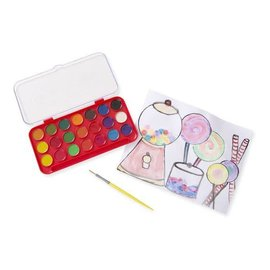 Melissa & Doug Deluxe Watercolor Paint Set (21 colours)
