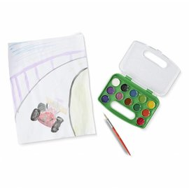 Melissa & Doug Take-Along Watercolor Set