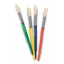 Melissa & Doug Medium Paint Brush Set (Set of 4)