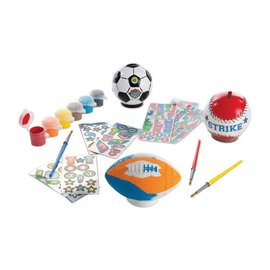 Melissa & Doug Decorate-Your-Own Sports Set