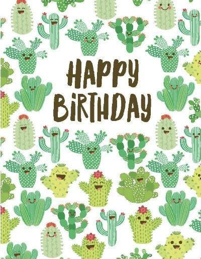 Happy Birthday Greeting Card Enchantedforest