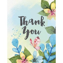 Yellow Bird Paper Greetings Thank You Greeting Card